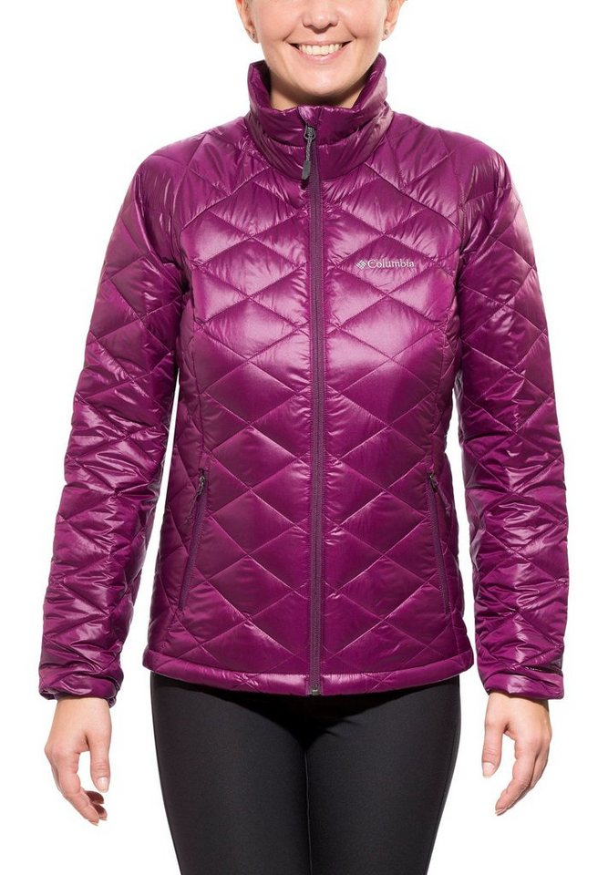 Columbia Outdoorjacke »Trask Mountain 650 TurboDown Jacket Women« in lila