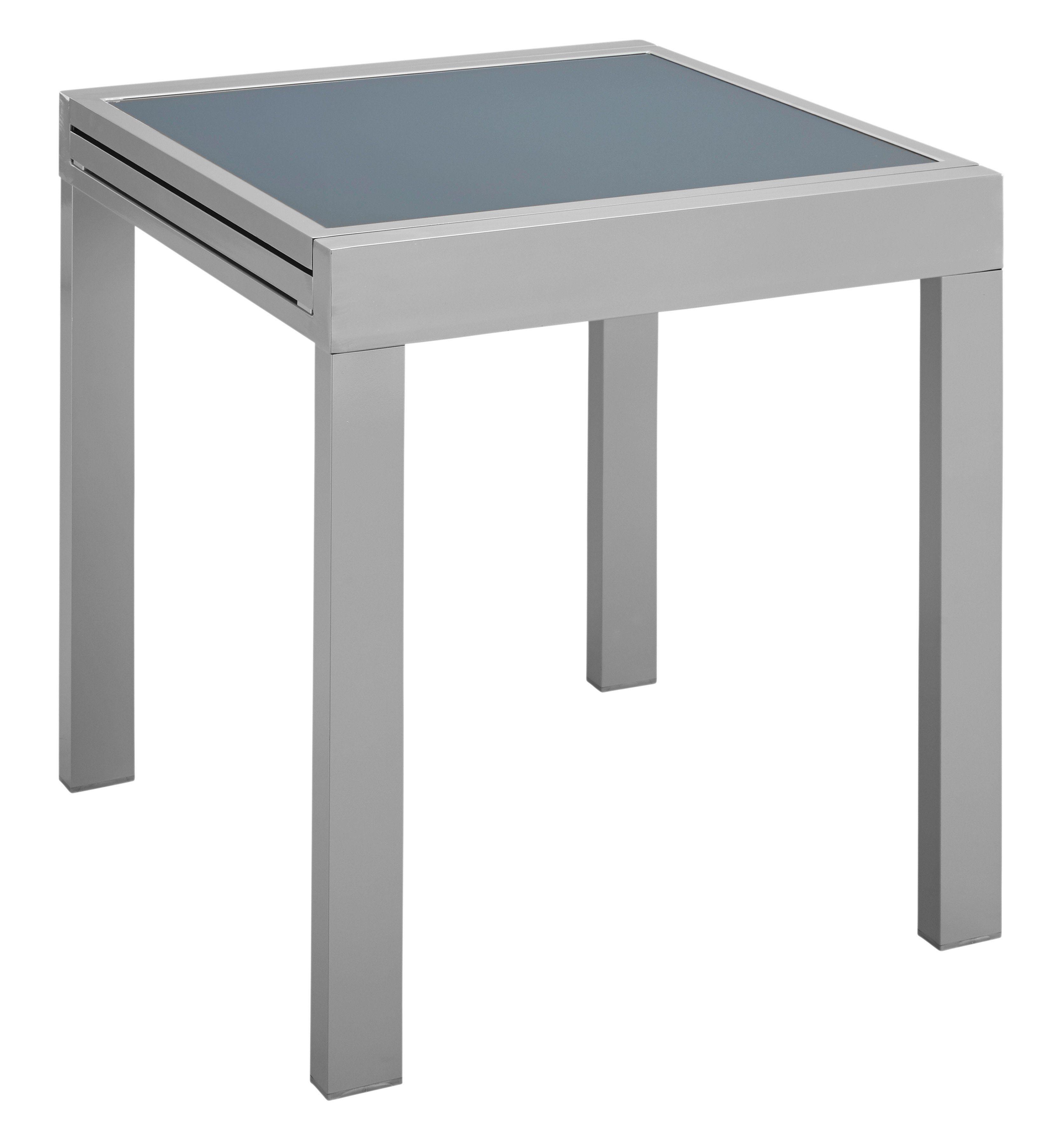 Gartentisch »Lima«, ausziehbar, Aluminium, 65-130x65 cm