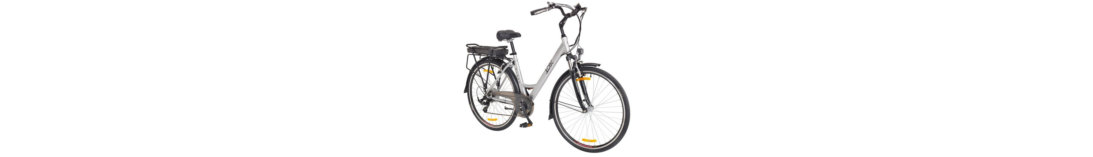 E-Bike City Damen »Urban «, 28 Zoll, 7 Gang, Heckmotor, 360 Wh