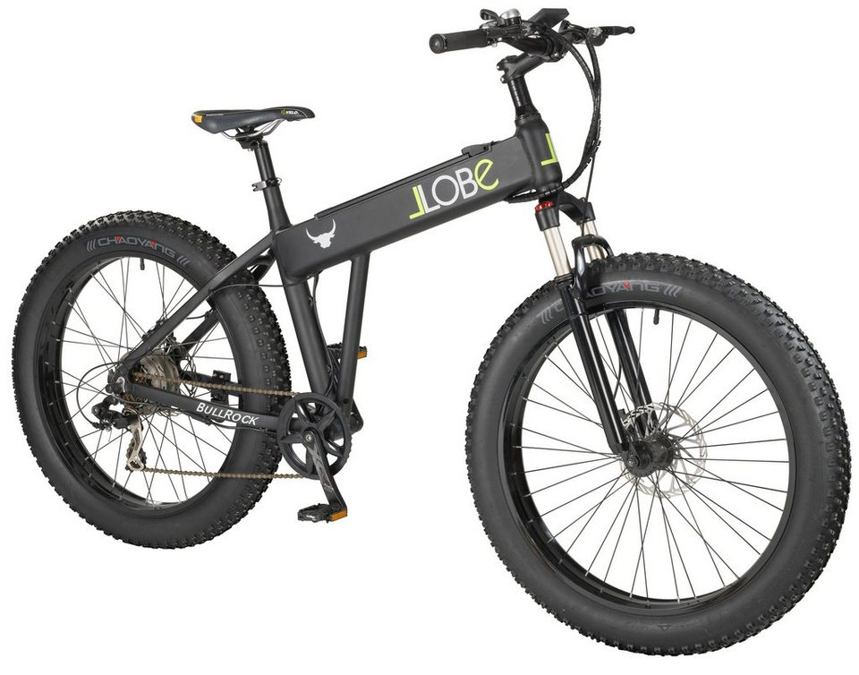 llobe e bike mountainbike bull 26 zoll 7 gang. Black Bedroom Furniture Sets. Home Design Ideas