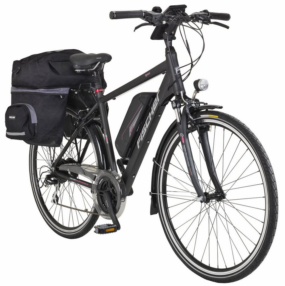 e bike trekking herren proline eth1606 28 zoll 24 gang heckmotor 504 wh online kaufen otto. Black Bedroom Furniture Sets. Home Design Ideas