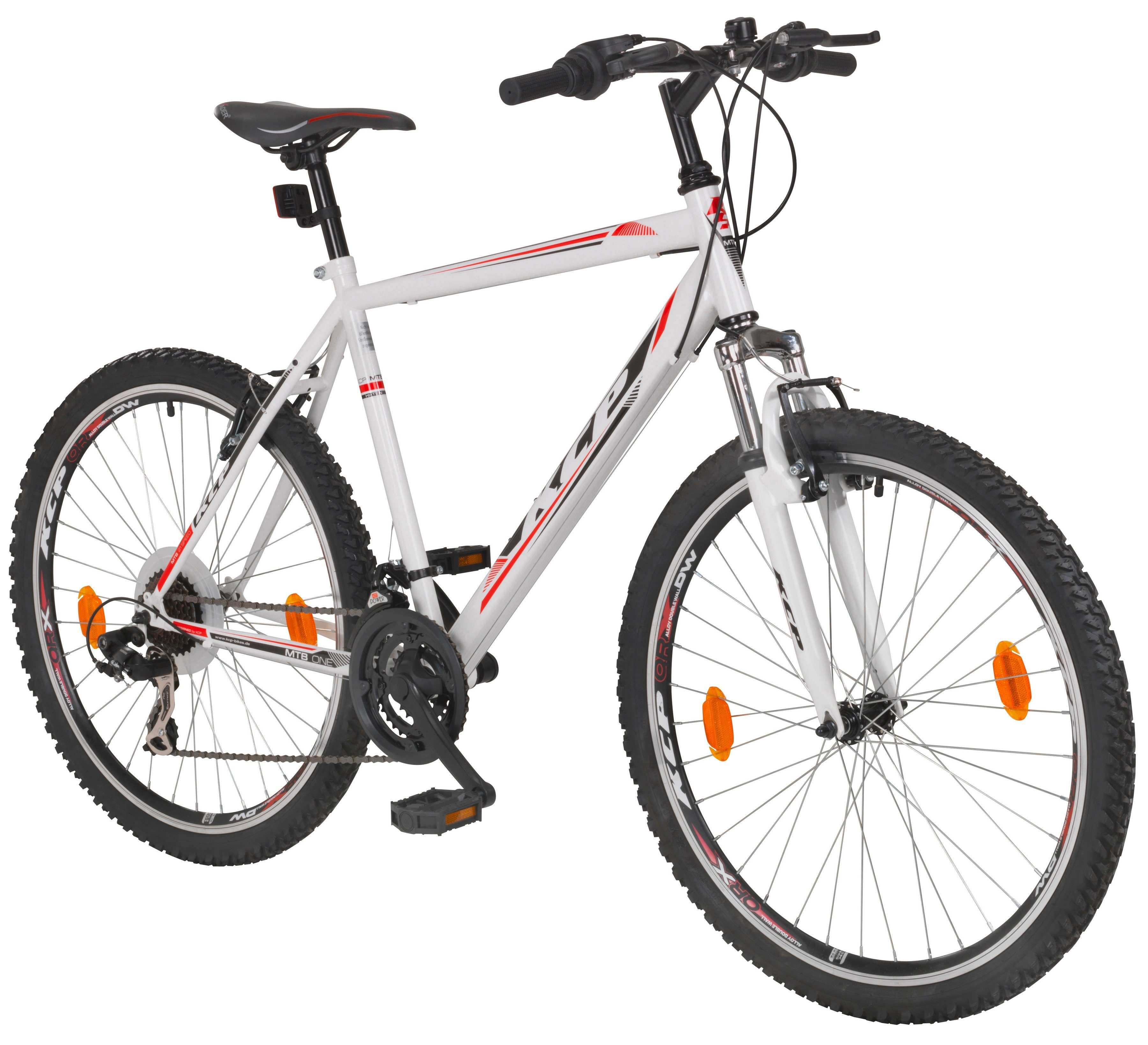 KCP Mountainbike »ONE«, 26 Zoll, 21 Gang, V-Bremsen