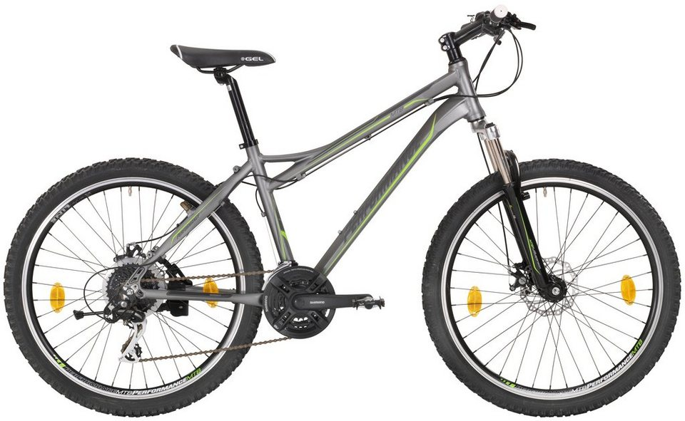 Mountainbike »26 Zolll«, SHIMANO Acera 24 Gang, Scheibenbremsen in grau