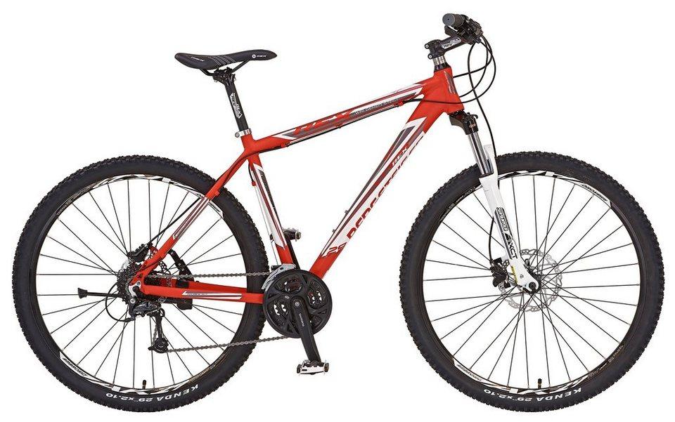 Prophete Mountainbike »REX BERGSTEIGER 6.5, 73,66 cm (29 Zoll)« in rot