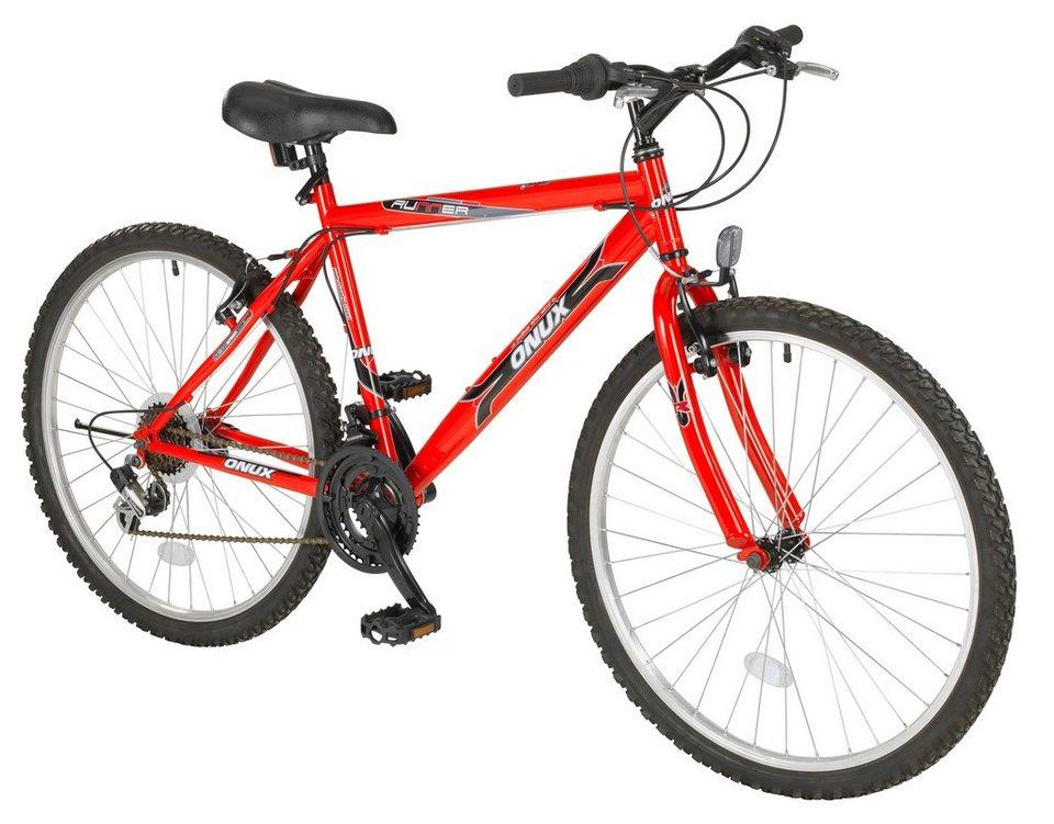 """Mountainbike (Herren) »""""Cruzader"""", 66,04 cm (26 Zoll)« in rot"""