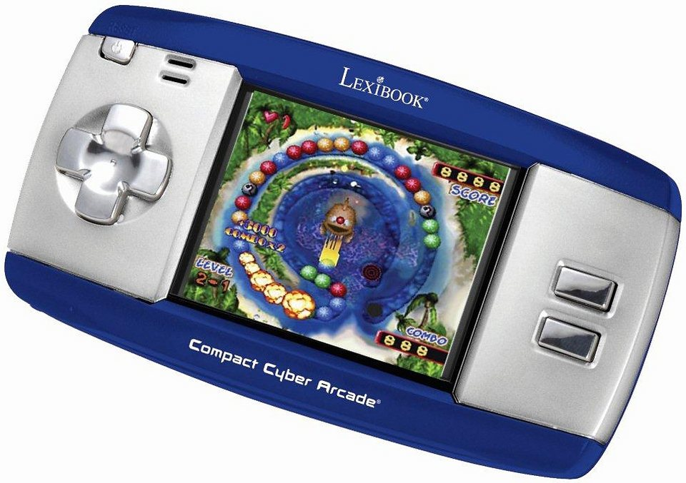 Lexibook Spielekonsole, »Compact Cyber Arcade« in blau