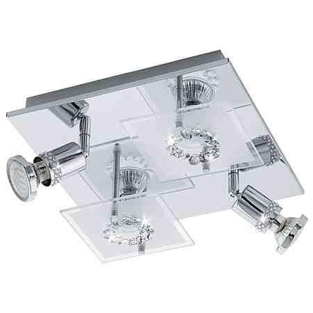 Eglo LED-Deckenleuchte, 4flg., »BALERNA«
