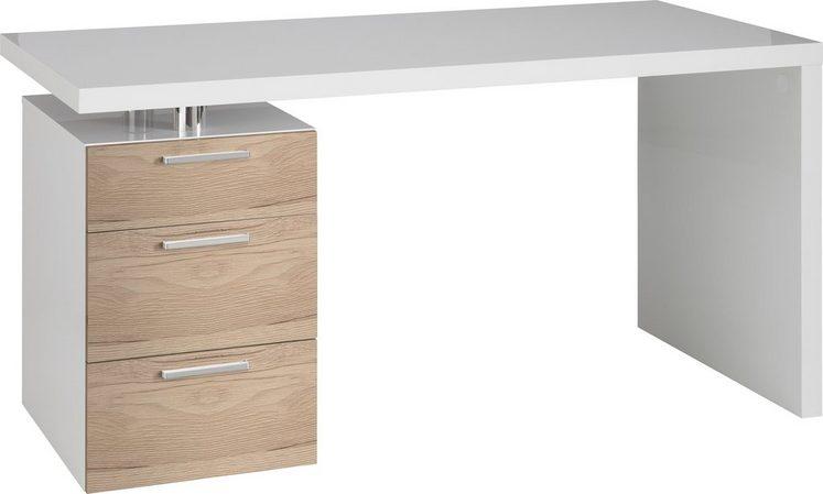 Schreibtisch, HMW, »Match«, mit 3 Schubkästen
