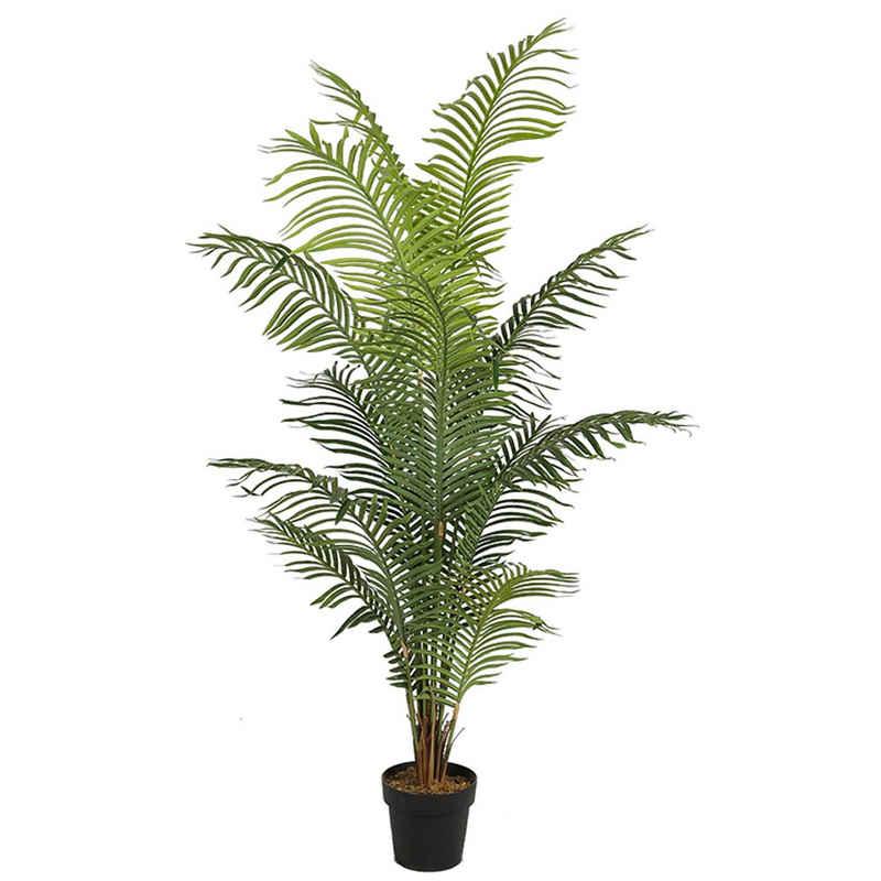 Kunstpalme »KP102 Kunstpflanze 180 cm« Palme, Arnusa, große künstliche Palme Pflanze im Topf