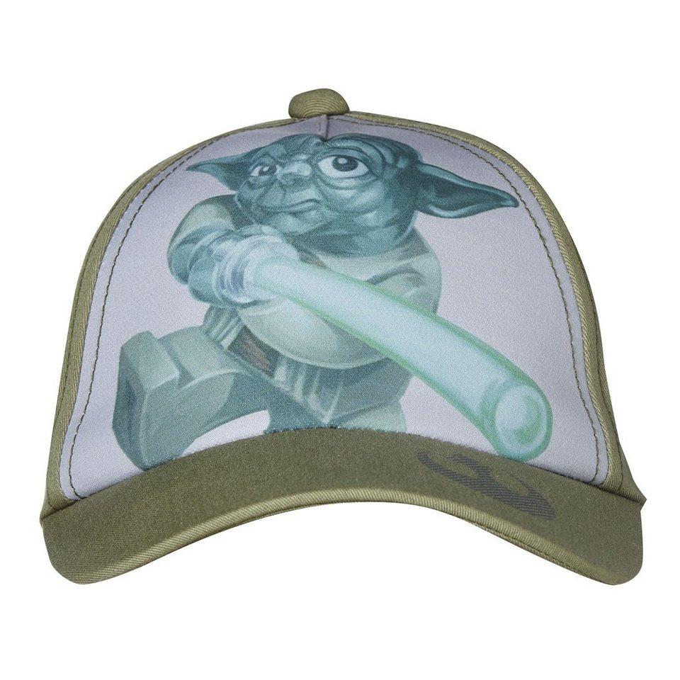 "LEGO Wear STAR WARS(TM) Basecap Carlos Kappe Baseball Mütze ""Yoda"" in grün"