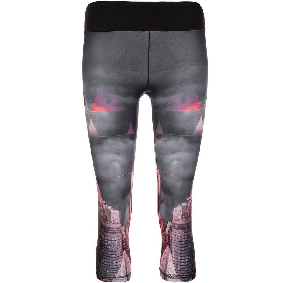 adidas Performance Workout 3/4 Trainingstight Damen in schwarz