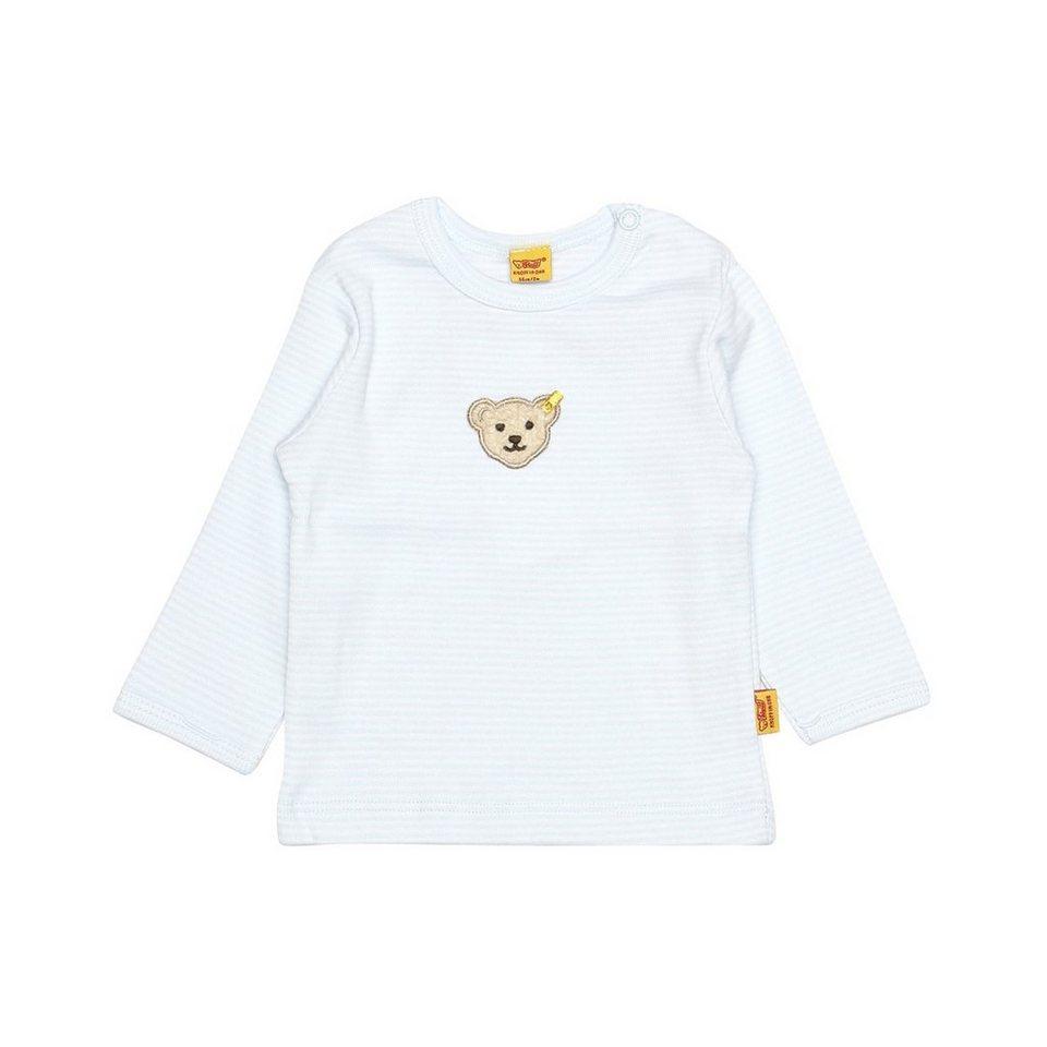 Steiff Collection T-Shirt langärmlig 1 in Hellblau