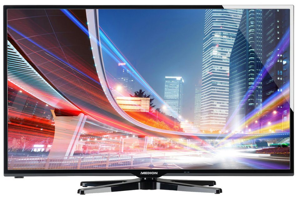 "MEDION® 127cm (50"") LED-TV LIFE® S18037 »Full HD, Triple Tuner mit DVB-T2 HD« in schwarz"