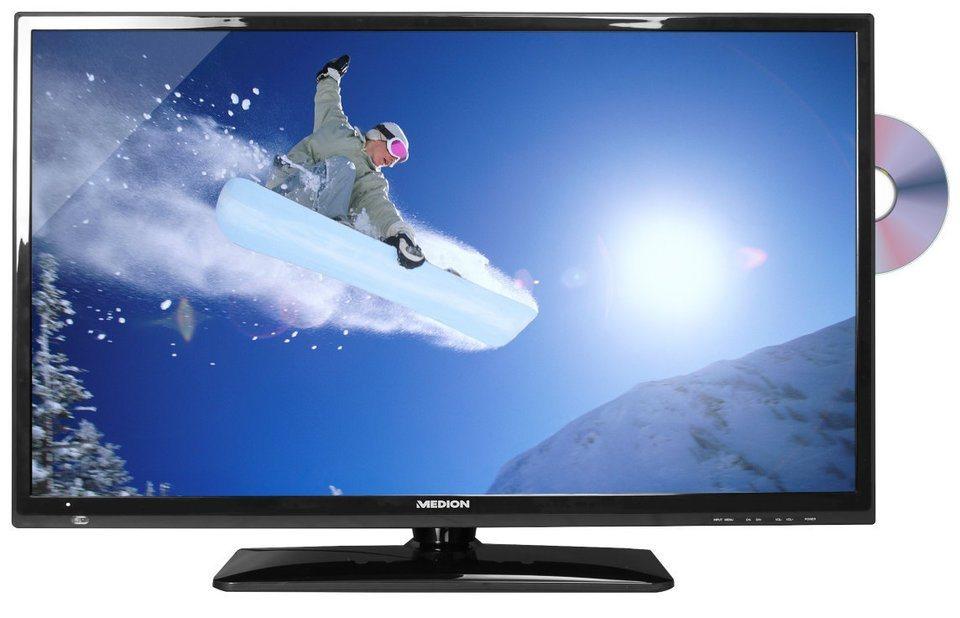 "MEDION® 80 cm (31,5"") LED-TV LIFE® P12238 »HD Triple Tuner & int. DVD-Player« in Schwarz"