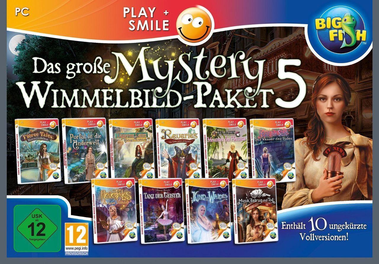 Astragon PC - Spiel »Das große Mystery Wimmelbild-Paket 5 (mit Banderol«