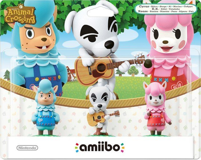Nintendo Wii U - Spiel »amiibo Animal Crossing 3er Figuren-Set (K.K., Rosi«