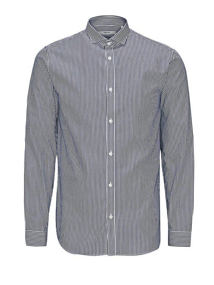 Jack & Jones Klassisch gestreiftes Businesshemd in Navy Blazer