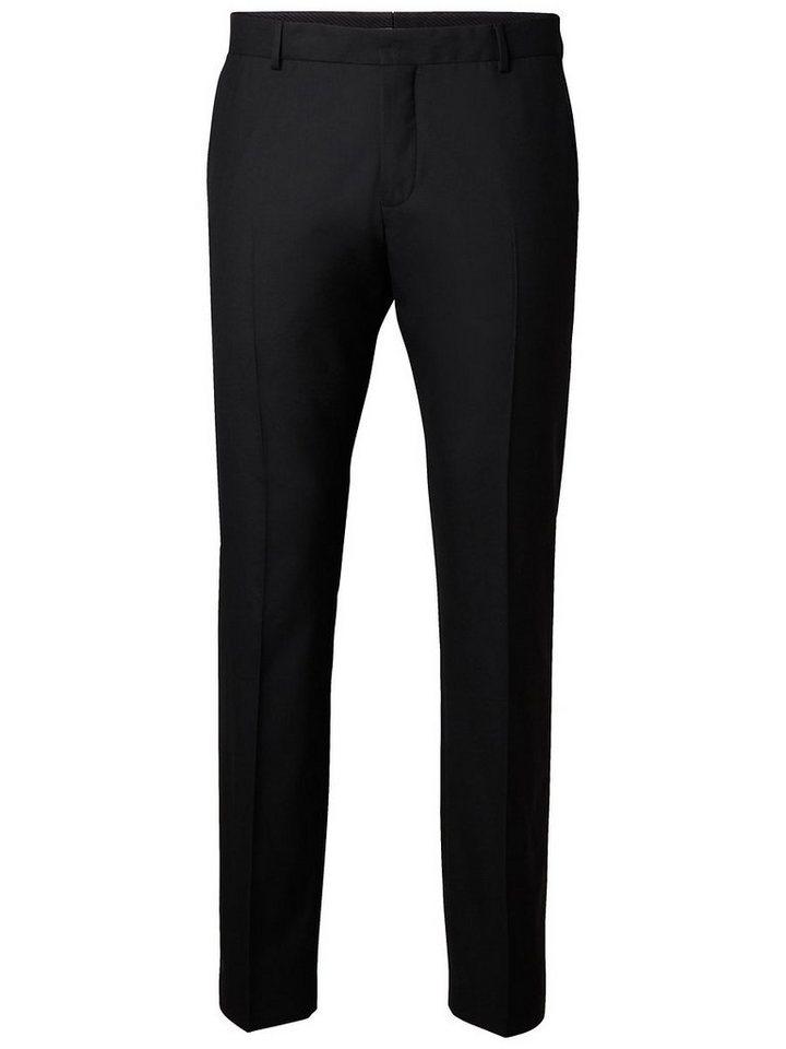 Selected Slim Fit- Hose in Black