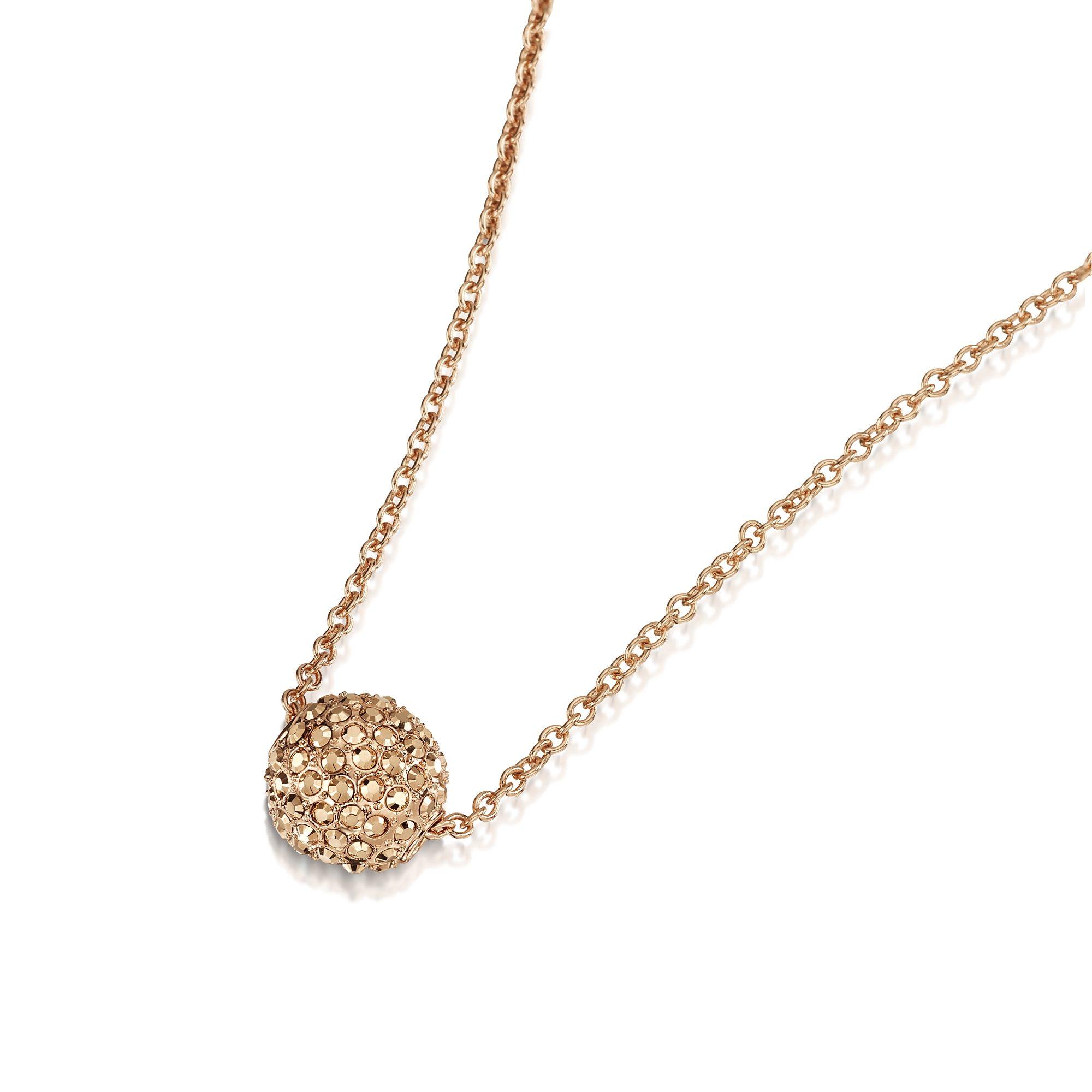 Buckley London Collier »rosevergoldet mit Kristallen«