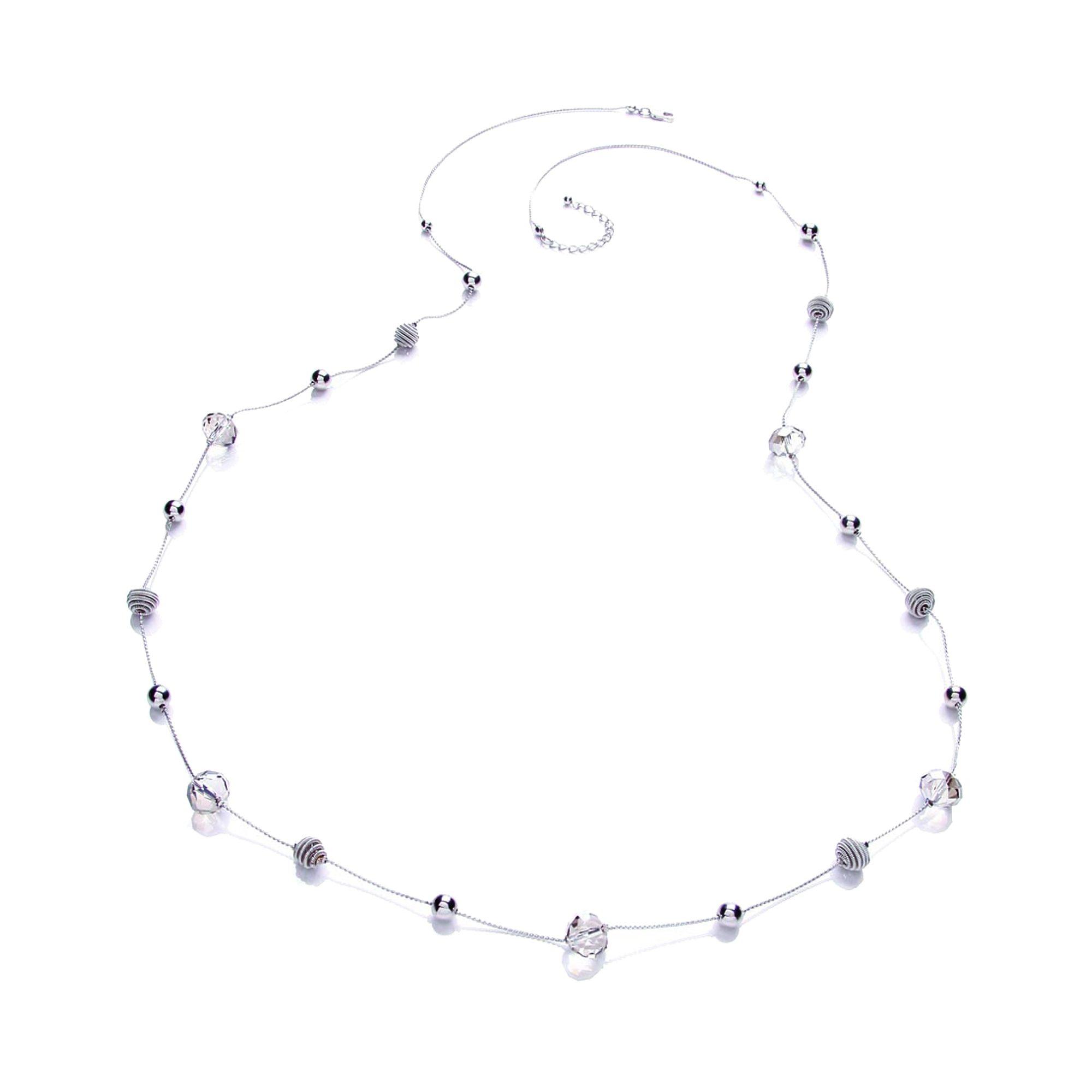 Buckley London Collier »rhodiumfarben mit verschiedenen Beads«