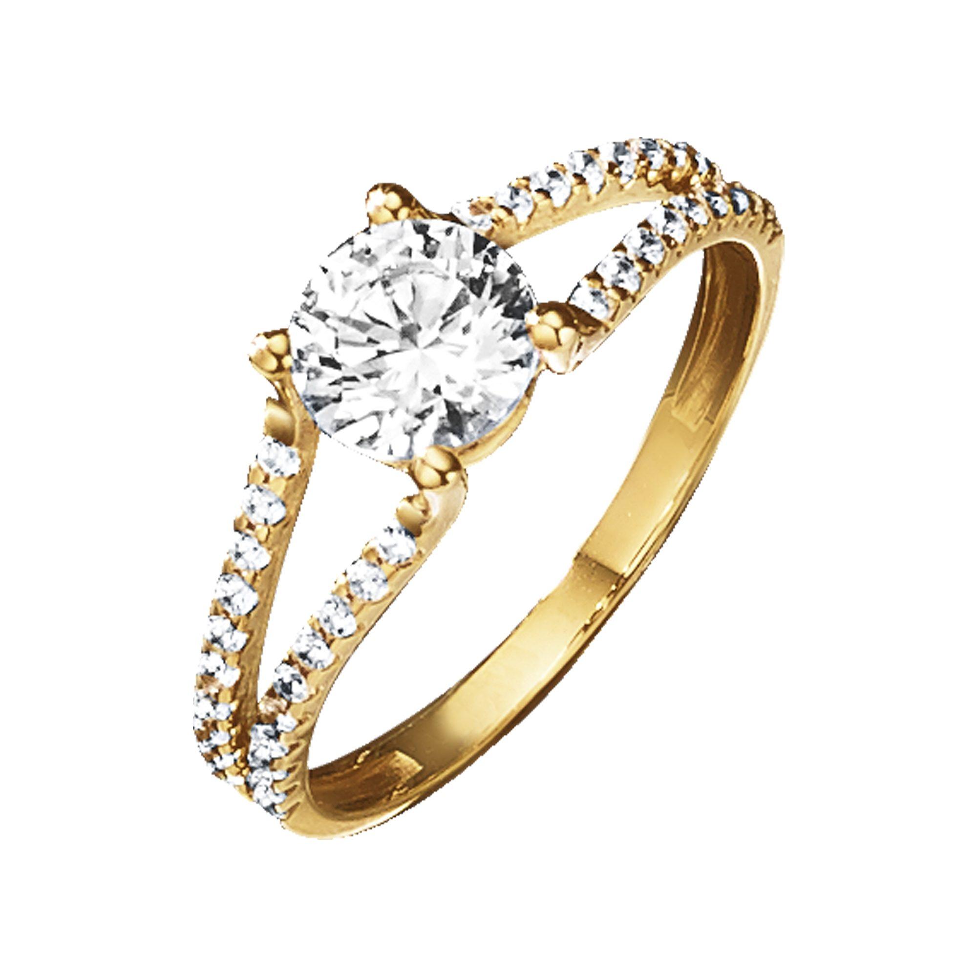 Jacques Lemans Ring »375/- Gold«