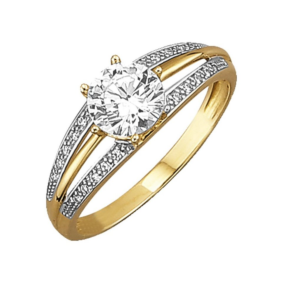Jacques Lemans Ring »375/- Gold« in gelb