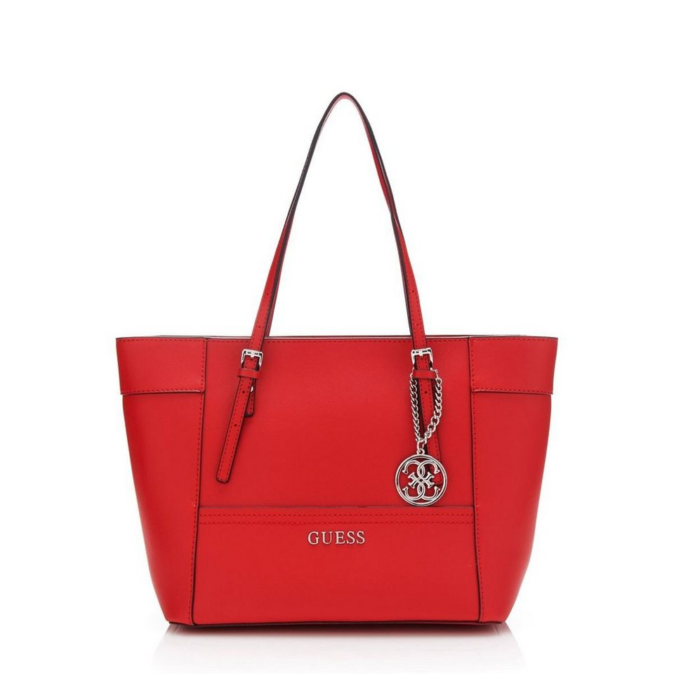 Guess KLEINER SHOPPER DELANEY in Rot