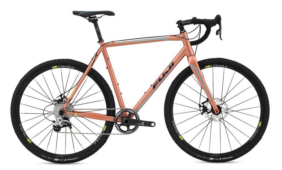 Fuji Herren Crossbike, 28 Zoll, 11 Gang SRAM Rival1 Schaltung, mech. Scheibenbremsen, »Cross 1.3« in Bronzefarben