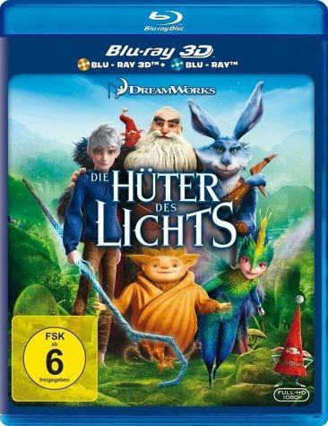 Blu-ray »Die Hüter des Lichts (Blu-ray 3D, + Blu-ray 2D)«