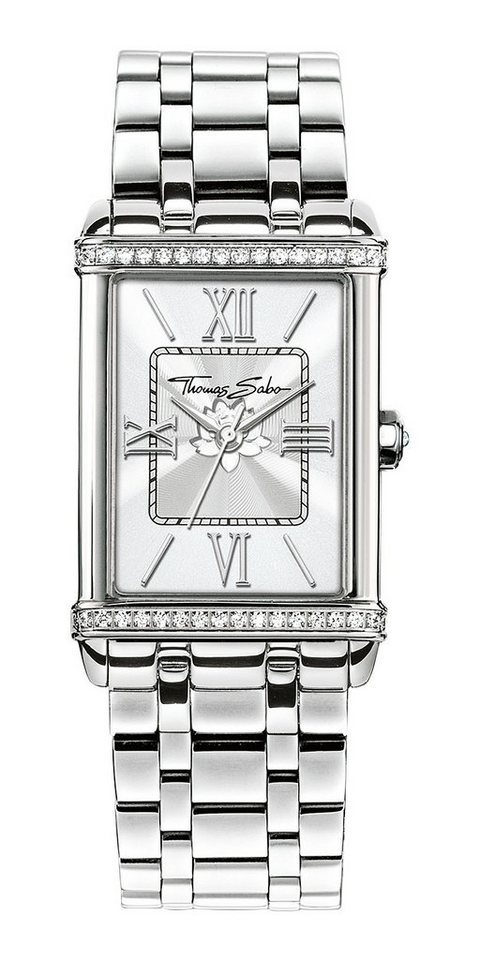 Thomas Sabo Quarzuhr »CENTURY, WA0231« in silberfarben
