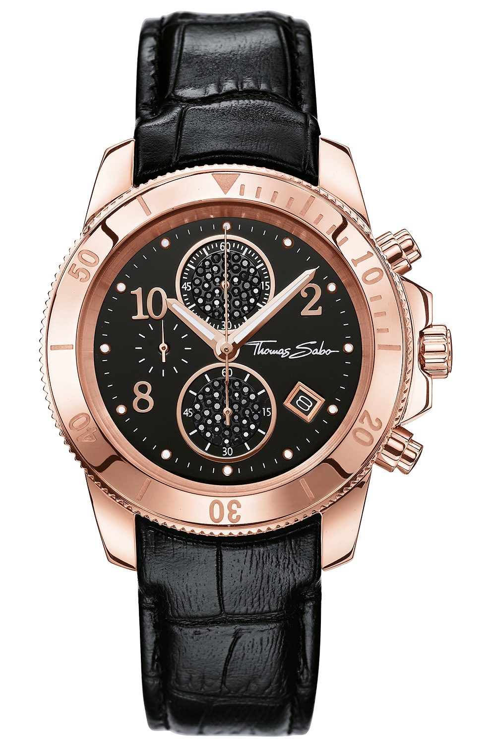 THOMAS SABO Chronograph »GLAM CHRONO, WA0204-213-203«