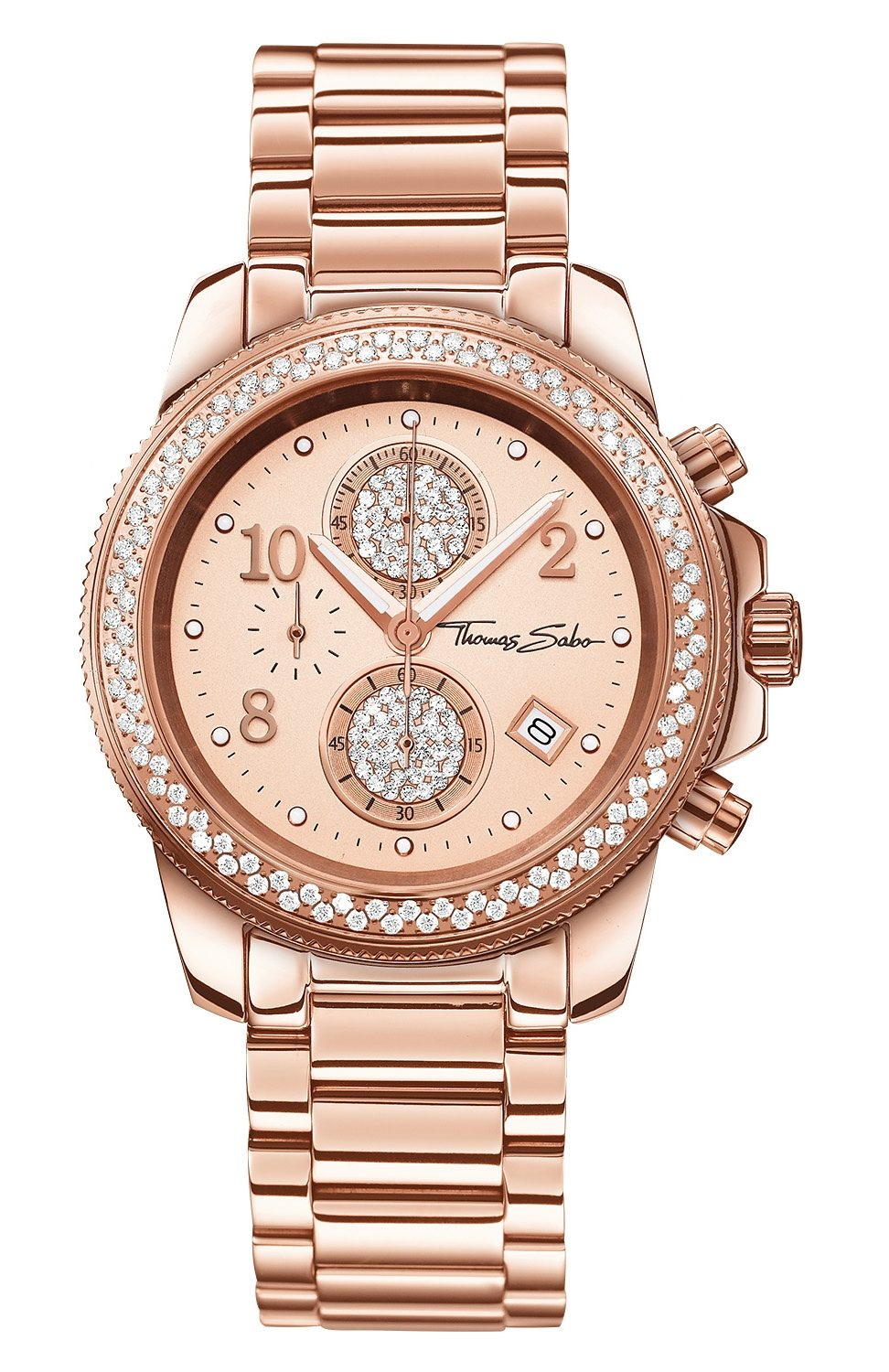 Thomas Sabo Chronograph »GLAM CHRONO, WA0202«