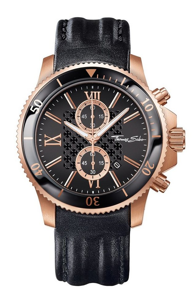 thomas sabo chronograph rebel race wa0189 213 203 online kaufen otto. Black Bedroom Furniture Sets. Home Design Ideas