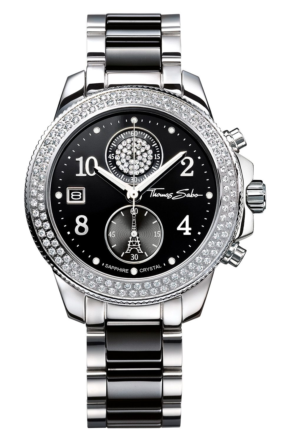 THOMAS SABO Chronograph »GLAM CHRONO, WA0185-222-203«