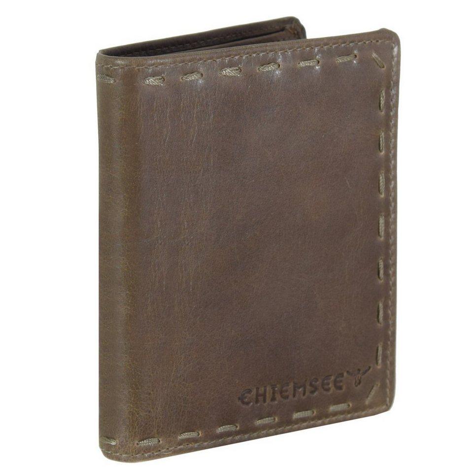 Chiemsee J88 Geldbörse Leder 10 cm in graubraun