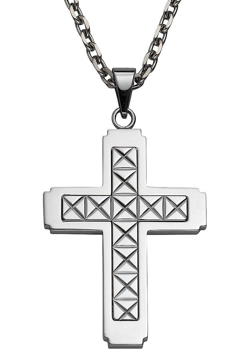 firetti Anhänger ohne Kette, »Kreuz«