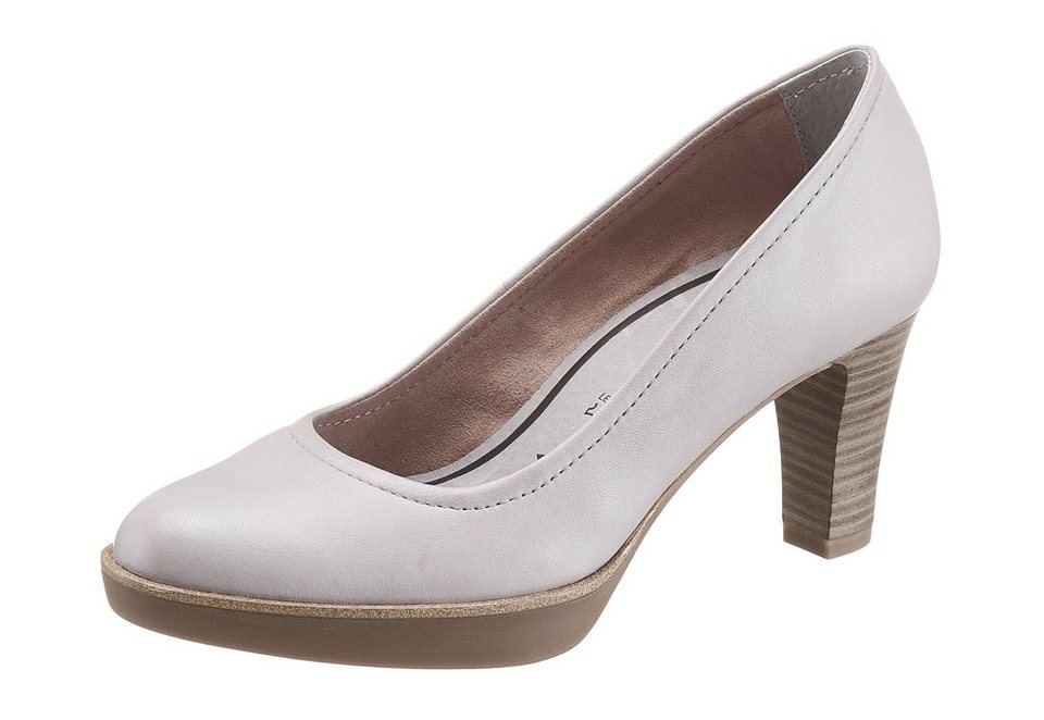 Pumps, Tamaris in grau