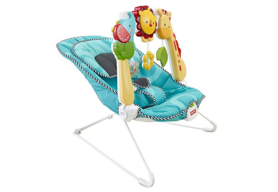 Fisher Price Babywippe, »2-1 Sensory Stages Wippe«