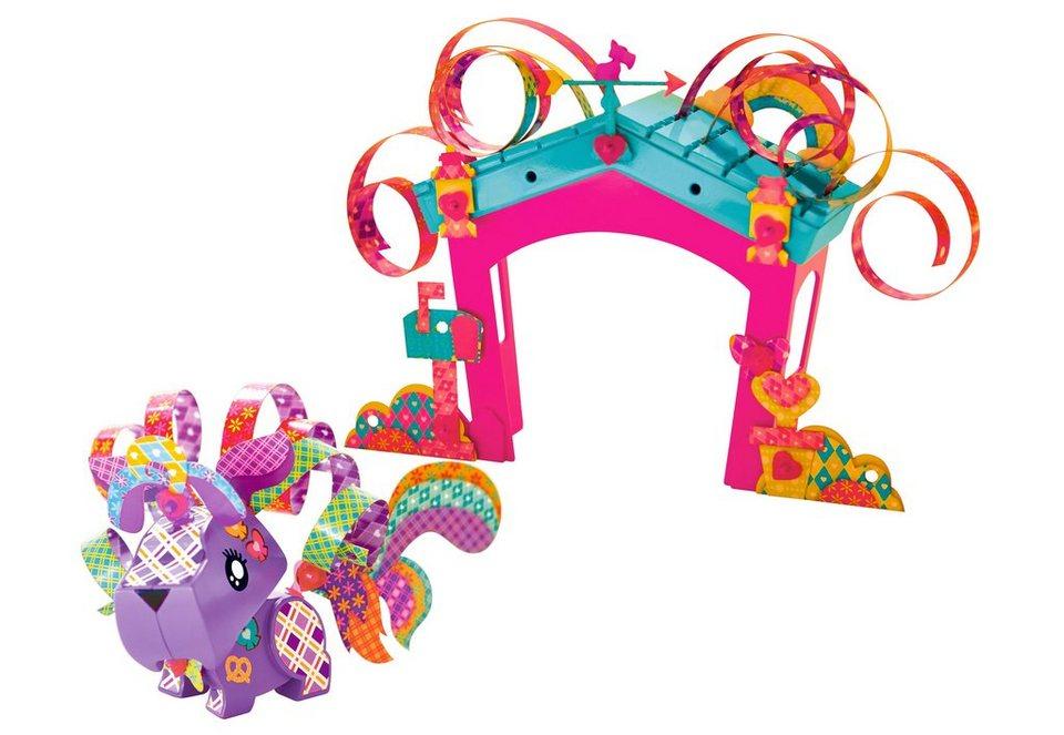 Mattel Bastel-Figur, »AmiGami Hund + Haus«