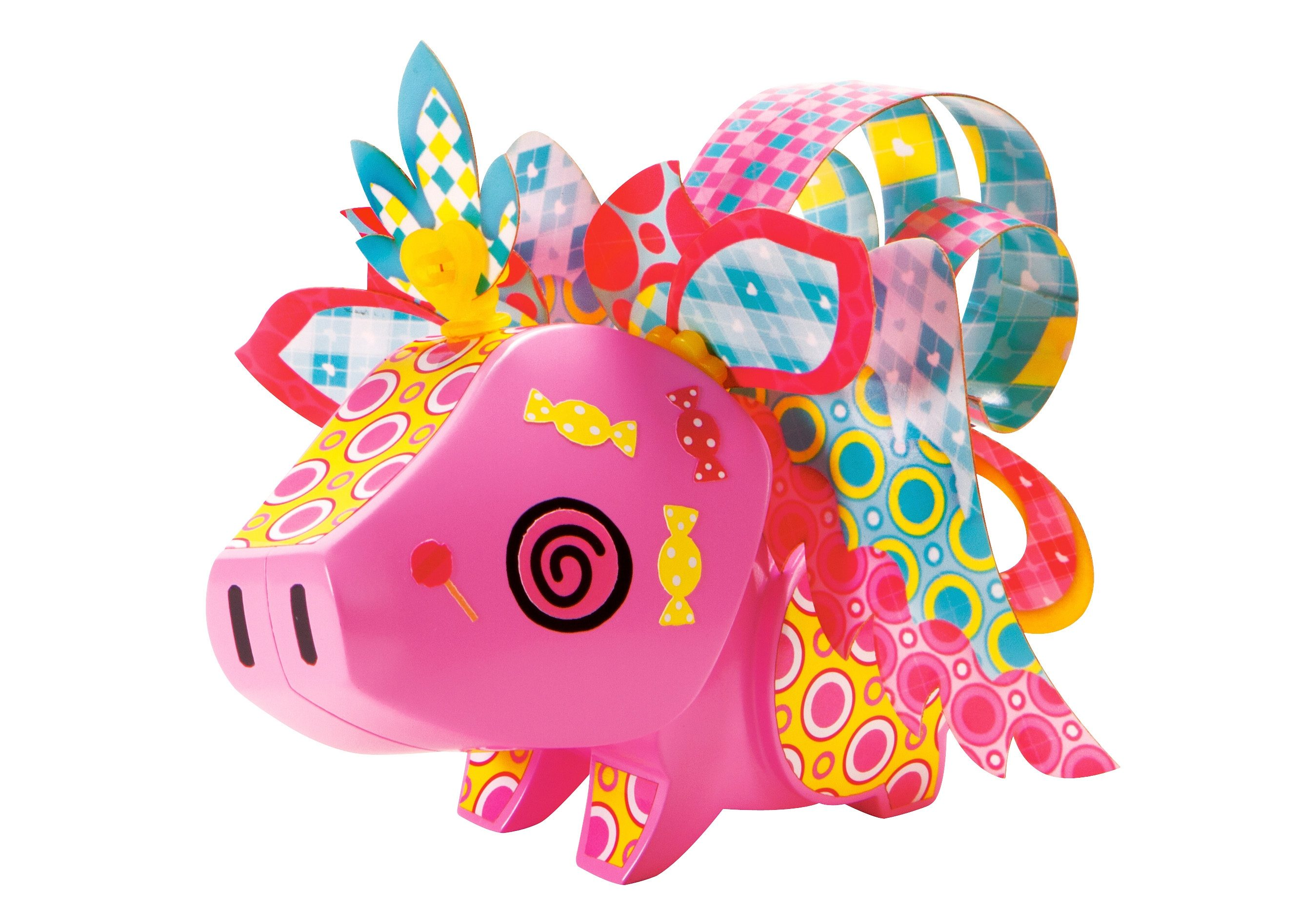 Mattel Bastel-Figur, »AmiGami Schwein«