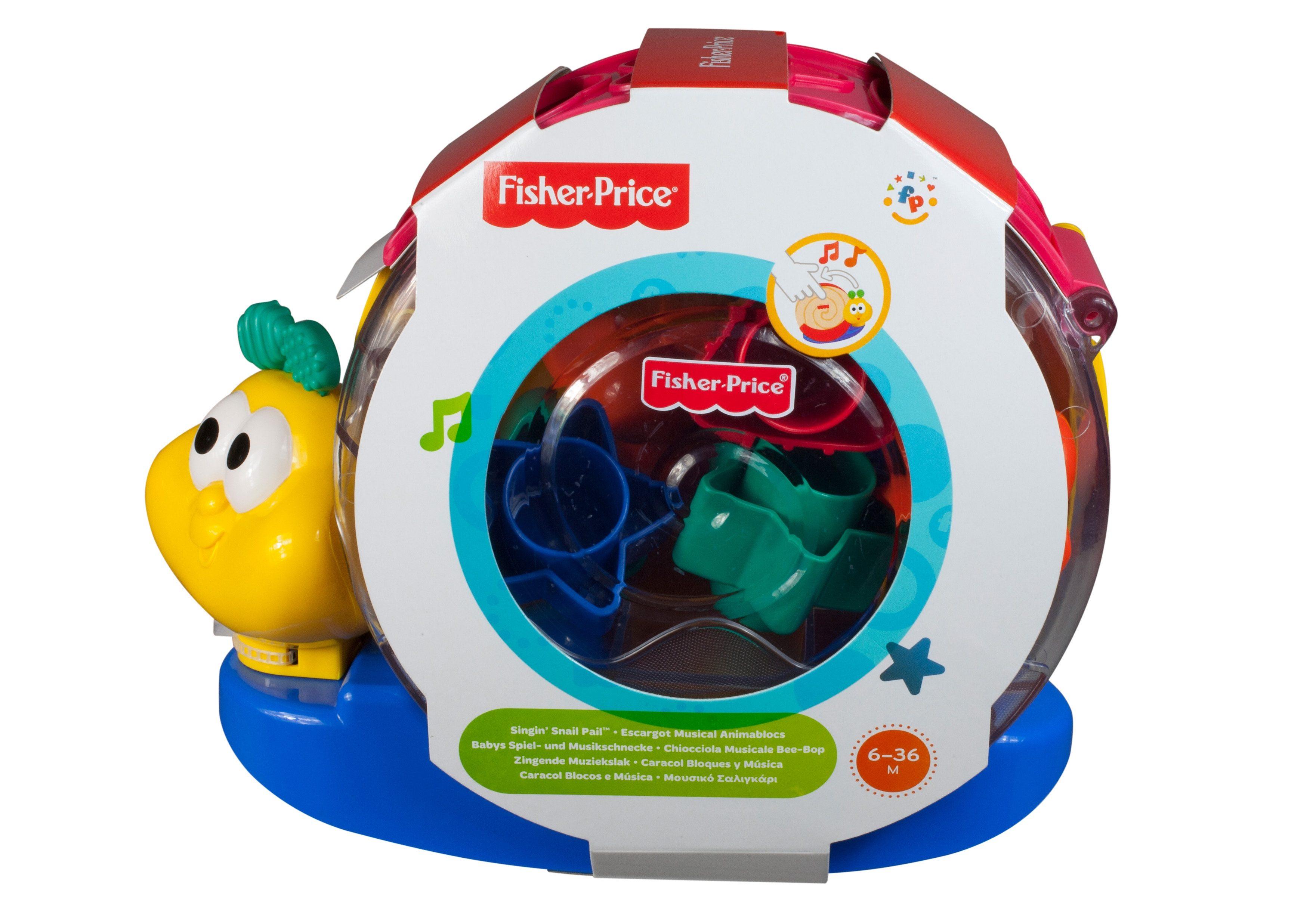 Fisher Price, Musik- und Stapelspielzeug, »Babys Spiel- und Musikschnecke«