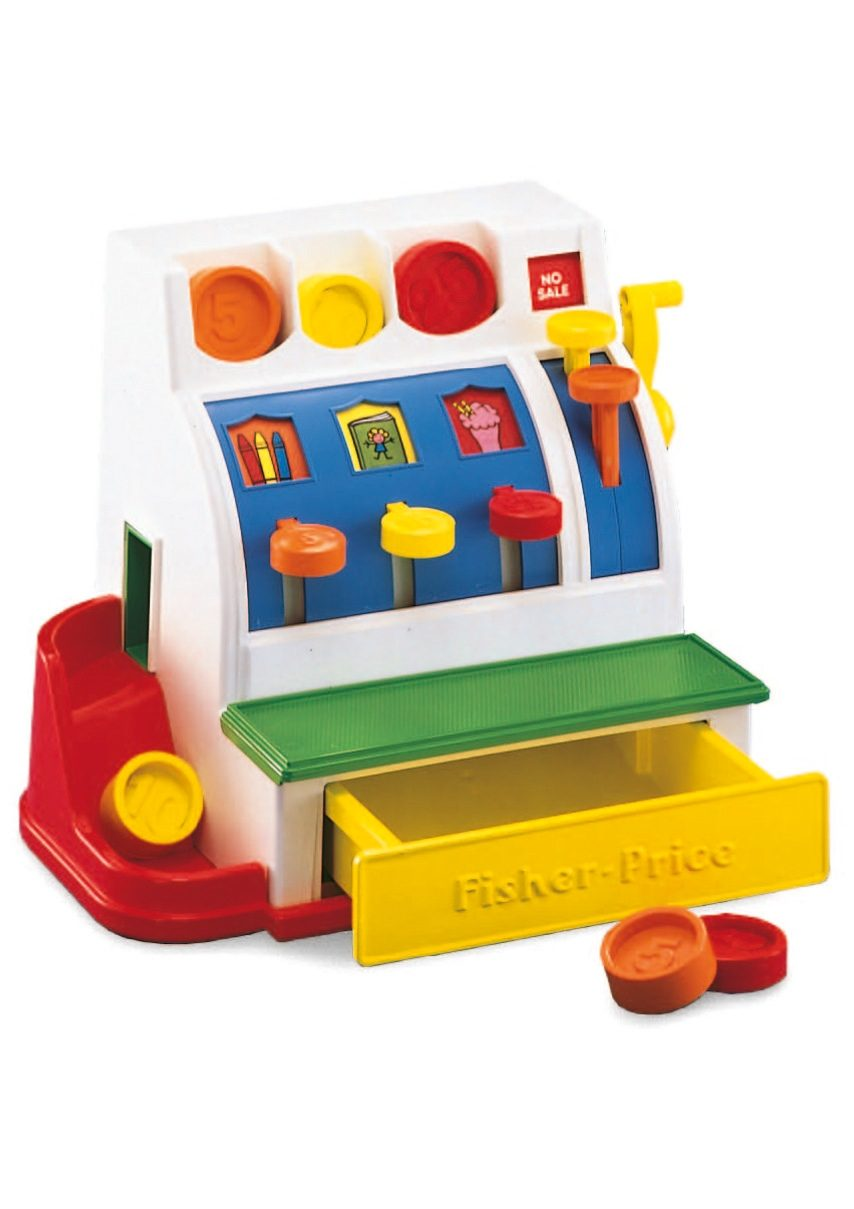 Fisher Price, Spielkasse, »Registrierkasse«