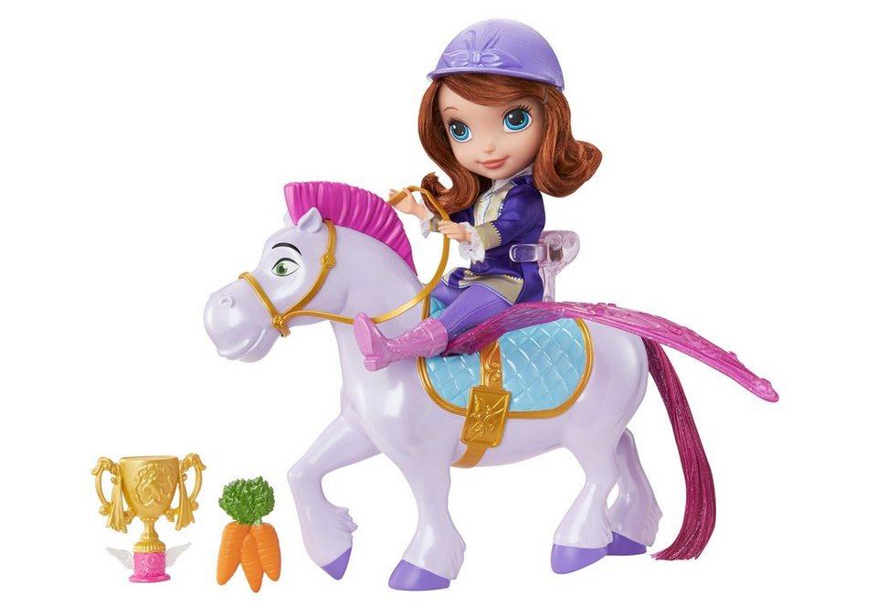 Mattel Puppe mit Zubehör, »Sofia die Erste - Fliegende Prinzessin Sofia und Minimus«