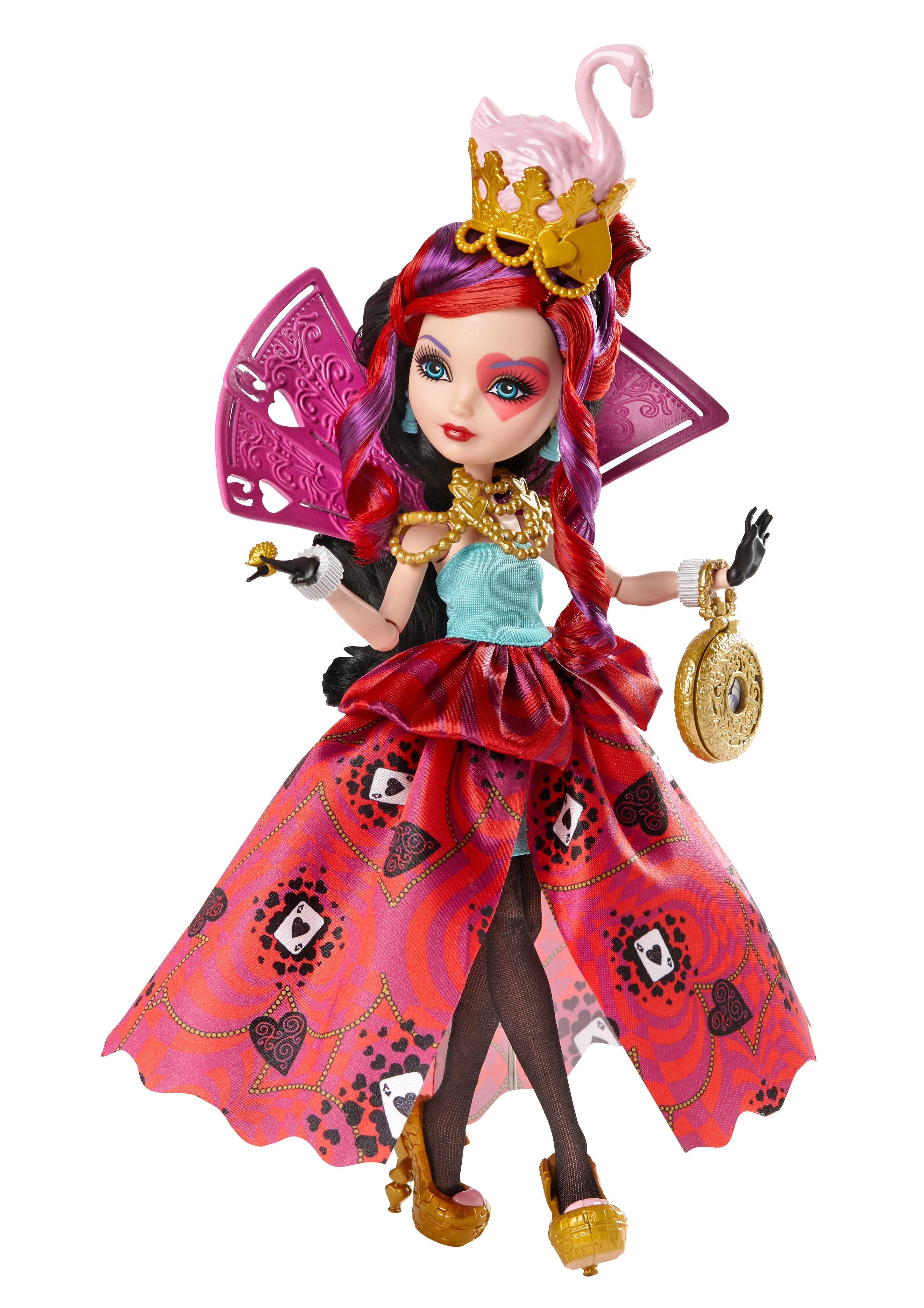 Mattel Puppe Ever After High, »Wunderland Lizzie Hearts«
