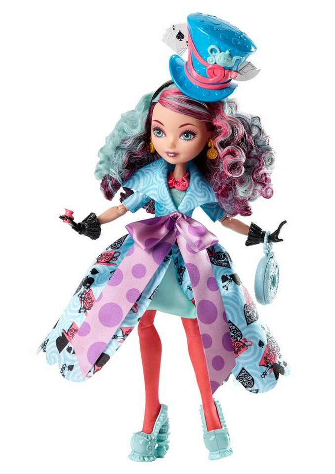 Mattel Puppe Ever After High, »Wunderland Madeline Hatter«