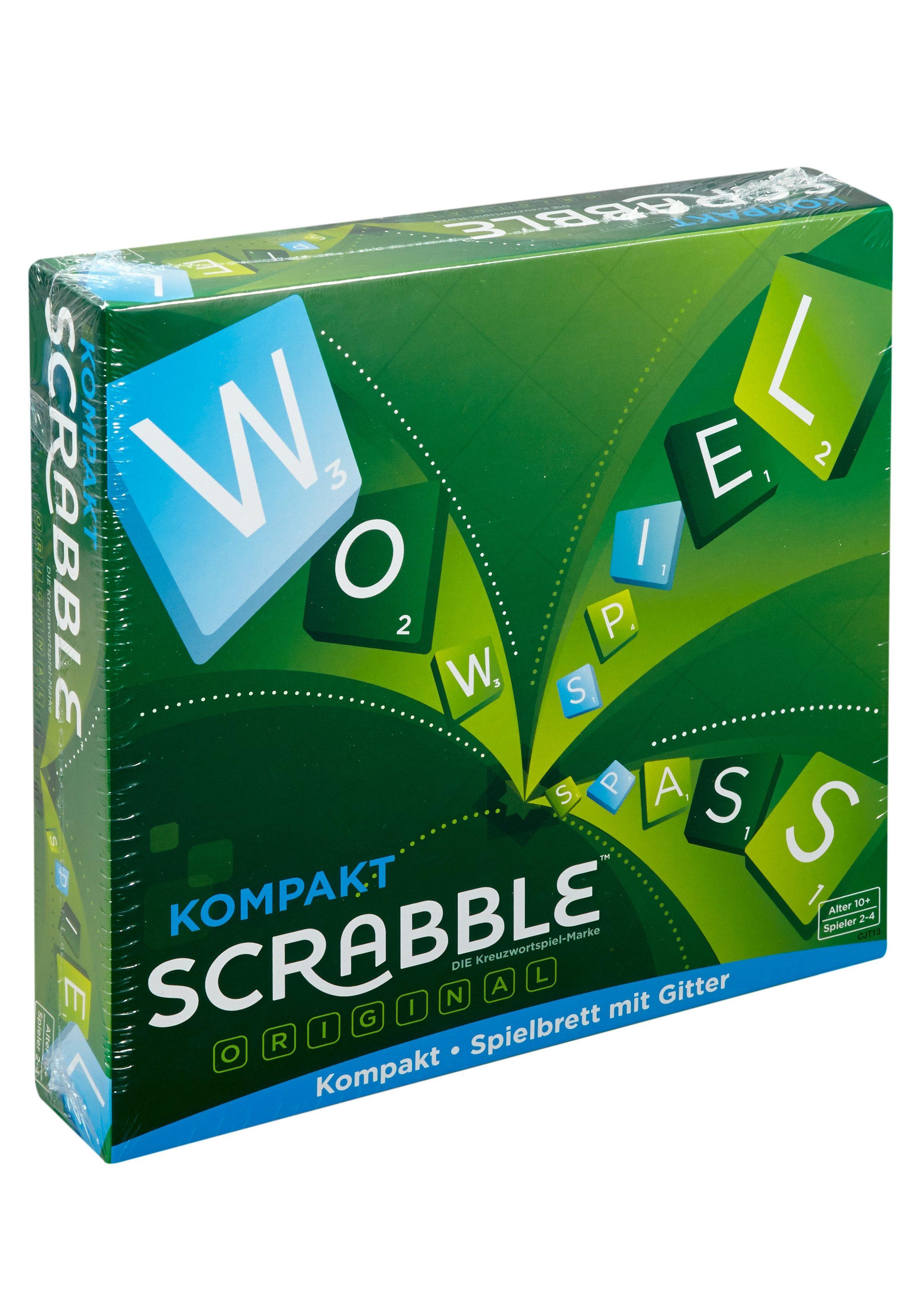 Mattel, Denkspiel, »Scrabble Kompakt«