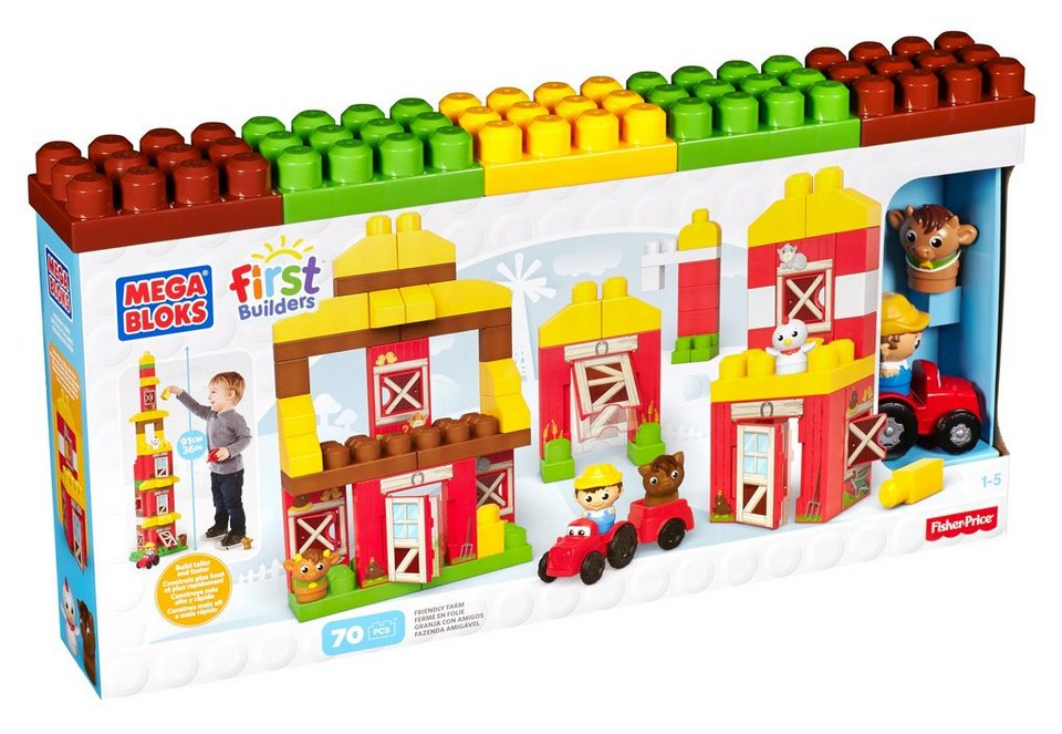 Fisher Price Bauernhof, »Mega Bloks, First Builders Friendly Farm«