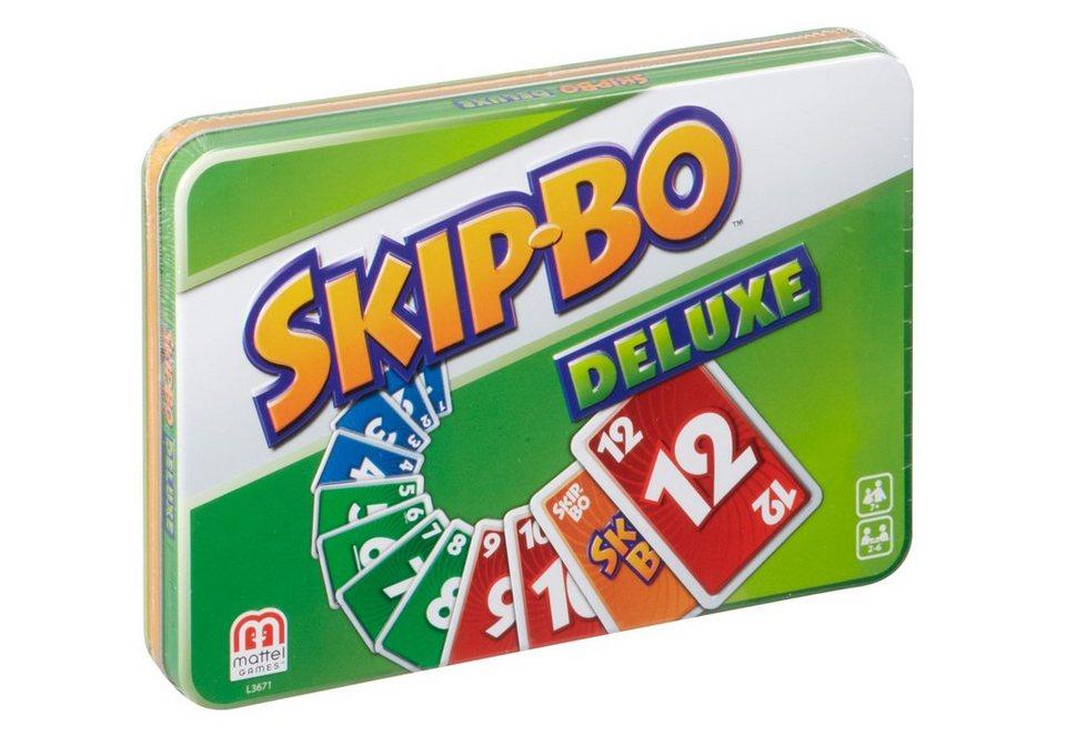 Mattel Kartenspiel, »Skip-Bo Deluxe«