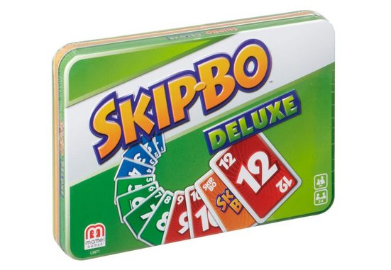 Mattel® Spiel, »Skip-Bo Deluxe Metallbox«