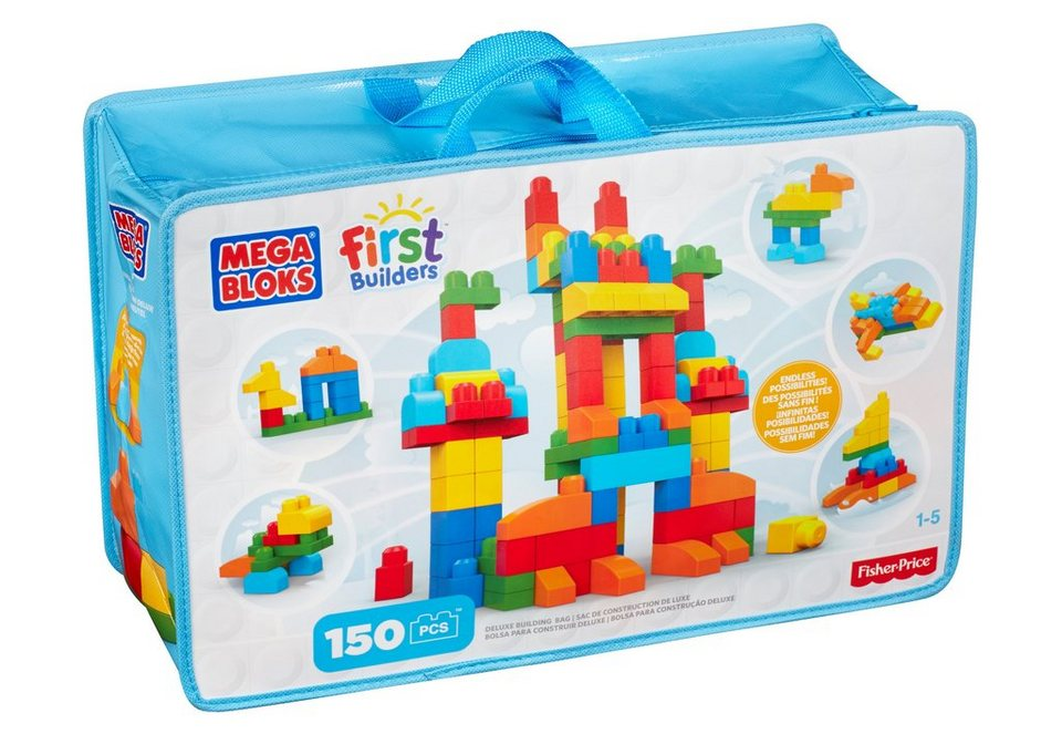 Fisher Price Bausteinetasche, »Mega Bloks, First Builders Deluxe«